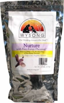 Detail image Wysong Nurture with Free Range Pheasant Dog and Cat Food Case, 15-Pound