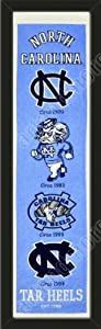 Heritage Banner Of North Carolina Tar Heels-Framed Awesome & Beautiful-Must For A... by Art and More, Davenport, IA