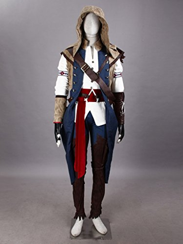 CosTop Assassin's Creed III Assassin 7th Ver Hoodie Costume for Man and Child
