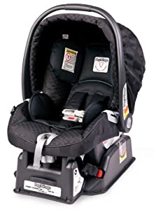 Peg Perego Primo Viaggio SIP 30/30 Infant Car Seat, Pois Black (Discontinued by Manufacturer)
