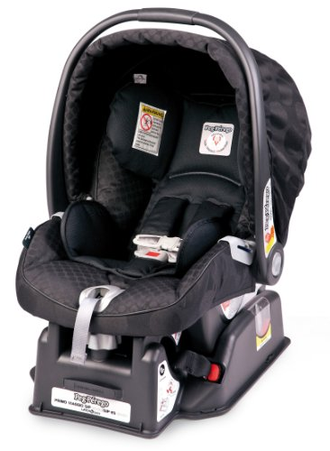 Peg Perego Primo Viaggio Sip 30/30 Infant Car Seat, Pois Black back-1039271