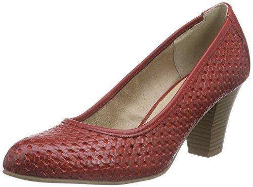 Jana22401 - Scarpe con Tacco Donna , Rosso (Rot (CHILI 533)), 38.5