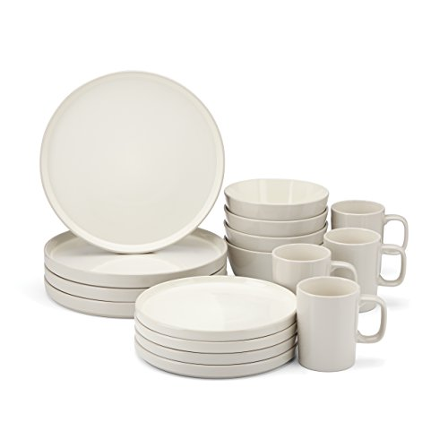 Food & Wine For Gorham Modern Farmhouse 16 Piece Dinnerware Set Barley N