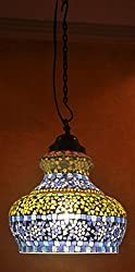 Jaipuri Mosaic Lamp For Home Decor 12 Inch