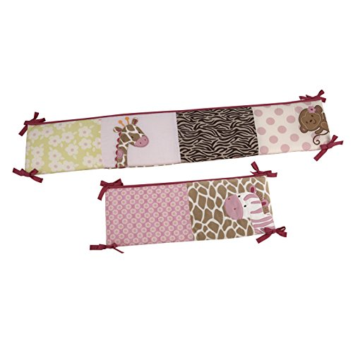 Carter's Jungle Collection Traditional Padded Bumper