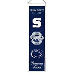 Buy NCAA Penn State Nittany Lions Heritage Banner by Winning Streak
