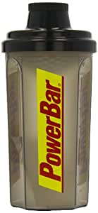 Powerbar Mix-Shaker schwarz-transparent 0,7ltr., 1er Pack