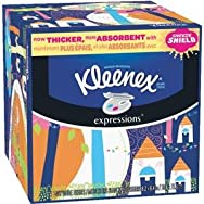 Kleenex 74 Count Expressions Facial Tissue-74CT KLENX FACIAL TISSUE