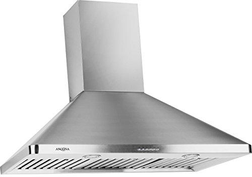 Ancona Rapido Chef II Pyramid 900 CFM Wall Mount Range Hood, 36-Inch (36 Oven Hood compare prices)