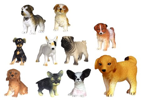 Adopt a Puppy Figures Series 3 - Set of 14 Vending Machine Toys (Vending Machine Puppies compare prices)