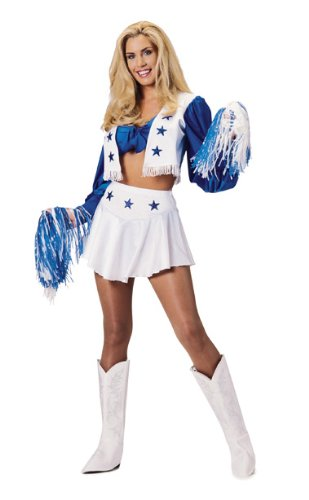 Dallas Cowboys Deluxe Secret Wishes Sexy Cheerleader Costume