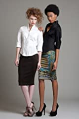 BL3111 Side Smocked Pencil Skirt