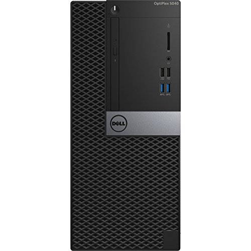 Dell OptiPlex Opti5040-3056MT Desktop (Intel Core I5, 8GB RAM, 500GB HDD, Windows 7 Pro)