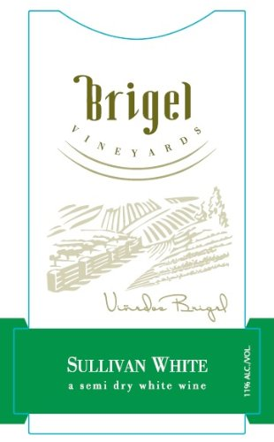 Nv Brigel Vineyards Sullivan New York White Wine 750 Ml