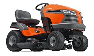 Husqvarna YTH23V48-CA 48-Inch 724cc 23 HP Briggs & Stratton Intek V-Twin Pedal Activated Hydrostatic Transmission Riding Lawn Tractor (CARB Compliant) from Husqvarna