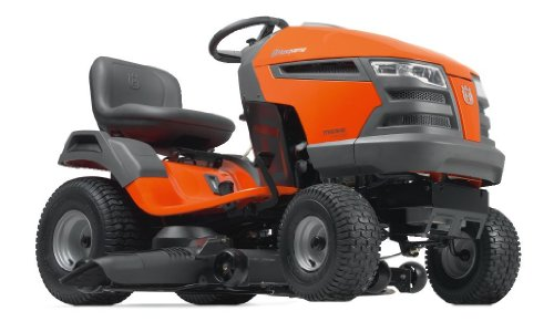 Husqvarna YTH23V48 48-Inch 724cc 23 HP Briggs & Stratton Intek V-Twin Pedal Activated Hydrostatic Transmission Riding Lawn Tractor