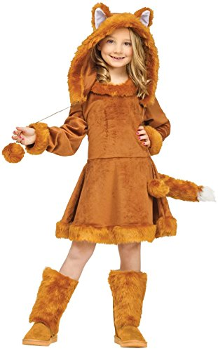 Sweet Fox Child Costume Size:Large