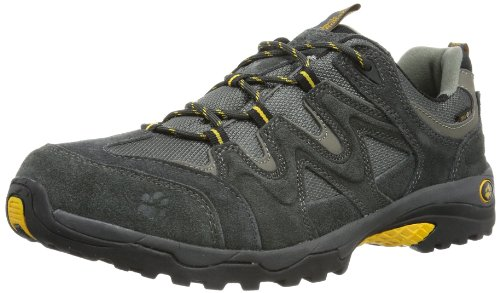 Jack Wolfskin Mens CANYON HIKER TEXAPORE MEN Trekking & Hiking Shoes Gray Grau (shadow black 6101) Size: 11 (45 EU)