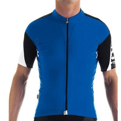 Buy Low Price Assos 2013 Men's SS.13 Short Sleeve Cycling Jersey – Blue – 11.20.202.20 (B002F98OIY)
