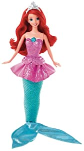 Mattel Y9955 - Disney Princess Verwandlungsprinzessin Arielle, Puppe