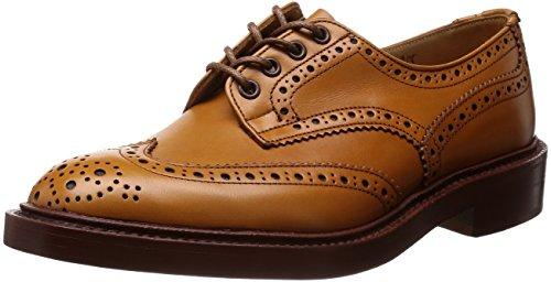 [トリッカーズ] Tricker's Tricker's Full Brogue Derby Shoe / BURTON - Calf -  (Double Leather Sole) M5633 ACORN Antique(ACORN Antique/7)