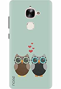 Noise Designer Printed Case / Cover for LeEco Max2 / Patterns & Ethnic / Owl Love Design