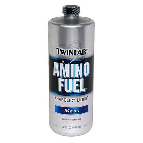 Twinlab Amino Fuel Anabolic Liquid Amino Acids, Mass, 2 Pound (Pack of 2)
