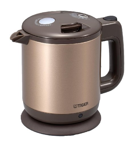 Tiger Electric Kettle Pcd-A060-Ne (Fluorinated Processing Containers) 0.6 L Champagne