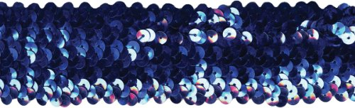 Wrights Five Row Stretch Sequins 1-3/4