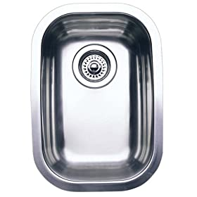 Blanco : 511-958 Elements Wave Plus Series Stainless Steel Bar Sink (Depth: 6.75in)