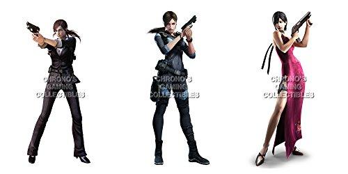 """CGC Poster grande, motivo: Resident Evil Claire Jill-e Ada-Cubo da gioco Nintendo 3DS, PS1, PS2, PS3, PS4, XBOX ONE, RESSET3, Carta, 24"""" x 36"""" (61cm x 91.5cm)"""