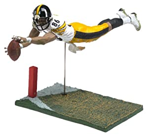 Hines Ward #86 White Jersey Chase Alternate Variant Pittsburgh Steelers Six Inch... by Unknown
