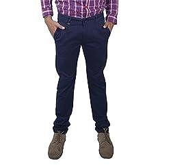 Rollister Men's Casual Pants (0094hh_Blue_34)