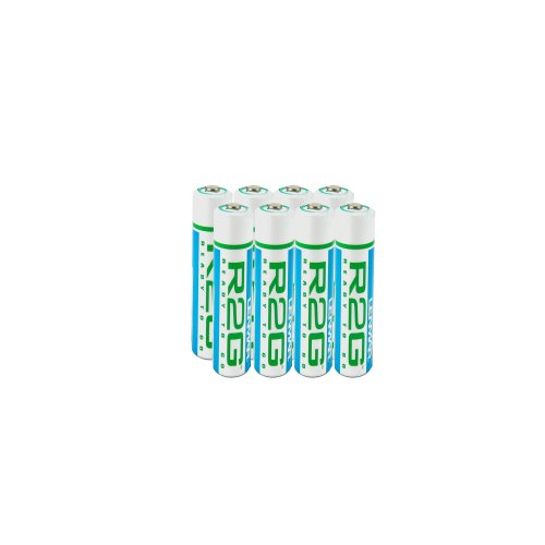 Lenmar Ready-2-Go R2GAAA8 1.2V 850mAh Rechargeable NiMH AAA Battery (8-Pack)
