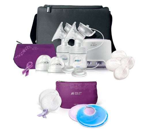 Philips Avent Double Electric Comfort Breast Pump With Breast Care Starter Kit