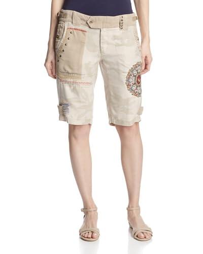 DA-NANG Women's Surplus Embroidered Bermuda Shorts