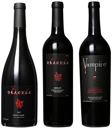 Vampire Vineyards Vampire Dracula Mixed Pack, 3 X 750 Ml
