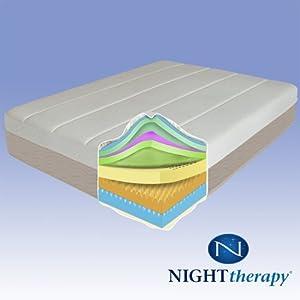 "Night Therapy 14"" Grand Memory Foam Mattress - Queen"