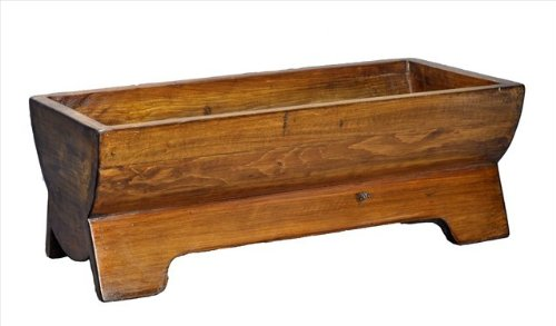 Natural Wooden Ferme Trough by Antique Revival