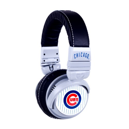 BiGR Audio xlmlbcc1 MLB Licensed Chicago Cubs Plastic Headphones at Amazon.com