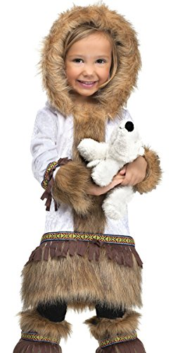 Fun World Costumes Baby Girl's Eskimo Toddler Costume