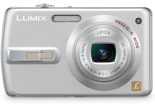 Panasonic Lumix DMC-FX50 is one of the Best Point and Shoot Digital Cameras for Photos of Children or Pets Under $400 with Wide-angle lens
