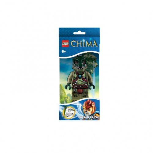 LEGO Legends Of Chima - Cragger Retractable Pen (LGO6644)