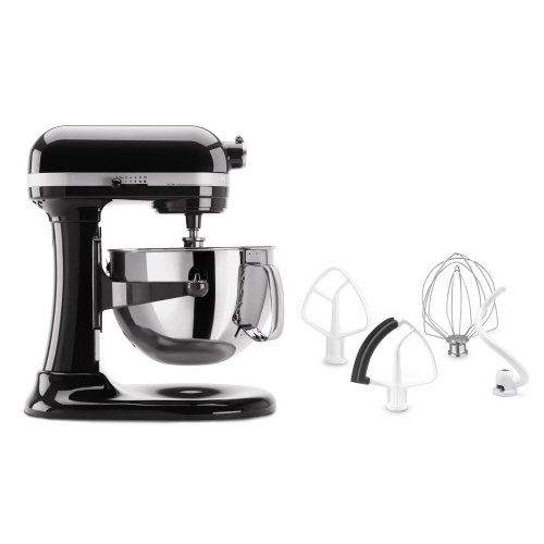 KitchenAid Pro 5.5-Quart Bowl Lift Stand Mixer, KV25MEX: Onyx Black On Sale