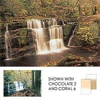 "Lee Coral Grad 2 Hard Graduated Coral Filter 4x6"" Resin"