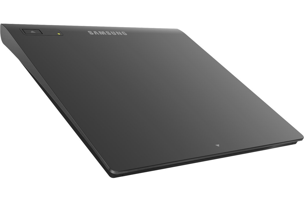 Samsung Ultra-Slim Black Optical Drive, M-Disc Support, MAC OS X compatible (TSST SE-208GB/RSBD)