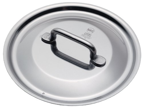 Sitram Catering 7-1/8-Inch Commercial Stainless Steel Lid