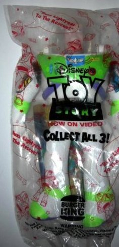 Buzz Lightyear Burger King/Disney Doll by Toy Story - 1