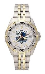 NBA Mens All Star Bracelet Watch with Team Logo Dial NBA Team: Dallas Mavericks by LogoArt