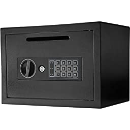 New - Barska Compact Keypad Lock Depository Safe - Quality. Only here.
